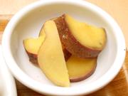有機さつま芋の生姜煮