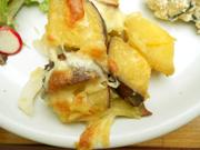 有機さつま芋と有機新玉ネギのチーズ焼き