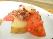 するめイカと有機ジャガ芋のエスニックオーブン焼き