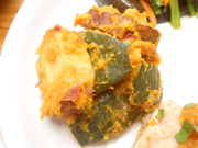 有機南瓜と有機さつま芋のクルミみそ和え