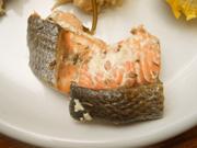秋鮭の香草焼き