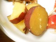 有機金時芋の蜜煮