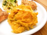 有機南瓜の豆乳マッシュ