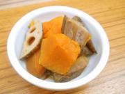 有機根菜と有機南瓜のピリ辛煮