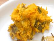 有機南瓜と有機さつま芋の豆乳マッシュ