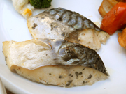 鯖の香草焼き