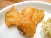 鱈のフリット パプリカ塩添え