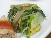 豆もやしと有機青菜の中華ナムル