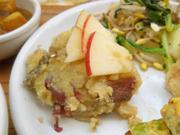 有機さつま芋とリンゴのシナモンマッシュ