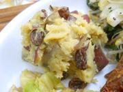 有機さつま芋とレーズンのメープルマッシュ