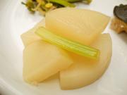 有機大根と有機セロリのレモンマリネ