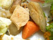 オーガニックチキンと有機根菜の筑前煮