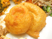 有機長芋のカレーナゲット