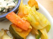有機旬野菜のバルサミコマリネ