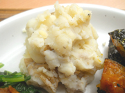 有機ジャガ芋の豆乳マッシュ