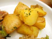 有機ジャガ芋のスパイシーカレー焼き