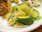 有機キャベツと有機ニラと豆もやしの塩ナムル