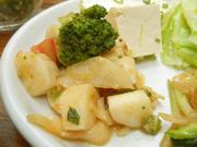 有機トマトと有機長芋の和風マリネ