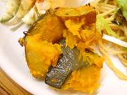 有機南瓜と有機さつま芋のガーリックハーブ焼き
