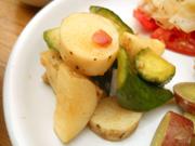 有機きゅうりと有機長芋の梅和え