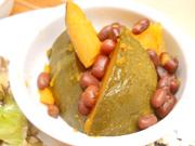 有機南瓜と小豆のいとこ煮
