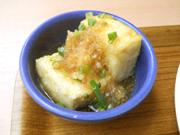 島田さん豆腐の揚げ出し豆腐