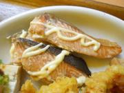 秋鮭のマヨネーズ焼き