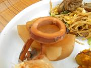 するめイカと有機大根の生姜炊き
