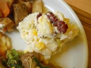 コーンとお豆のポテトサラダ
