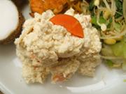 島田さん豆腐と有機蓮根の白和え