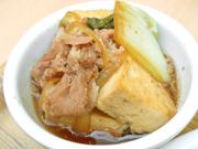 鉄鍋豚肉豆腐