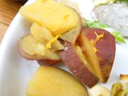 有機さつま芋の柚子蜜煮