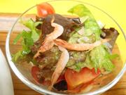 ロースト桜エビと春雨とリーフのベトナム風サラダ