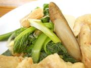 豆もやしと青菜のナムル