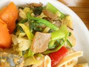 有機青菜とこんにゃくの胡麻和え