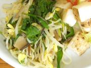 豆もやしと有機ニラのスタミナナムル