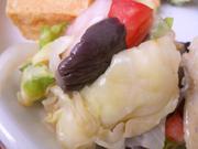 有機トマトと有機キャベツのバルサミコマリネ
