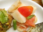 有機トマトと有機長芋のビネガーマリネ