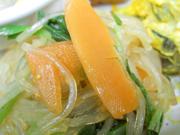 有機青菜と春雨の中華和え