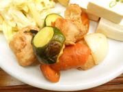 ゆうゆう鶏と有機夏野菜の照り焼き