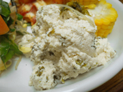 島田さん豆腐と高菜の白和え