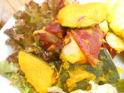 有機南瓜と有機さつま芋のメープル和え