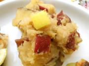 有機さつま芋とりんごとシナモンのサラダ