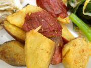 有機さつま芋のフライドポテト シナモン塩添え