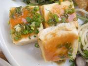 島田さん豆腐の味噌田楽焼き