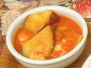 鶏肉と白いんげん豆のトマト煮込み