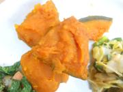 有機南瓜のほくほく味噌煮