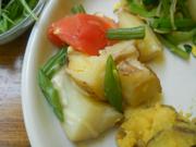 トマトとじゃが芋のオーブン焼き