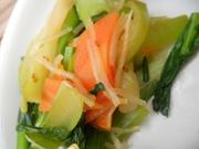 春雨と青菜の中華和え