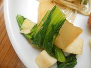 大根と青菜のさっぱりゆず胡椒和え